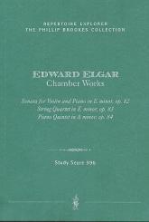 Elgar, Edward: Chamber Works study score