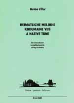 Eller, Heino: Heimatliche Melodie für Streichorchester, Partitur