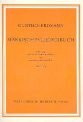 Erdmann, Gunther: Märkisches Liederbuch für gem Chor (Frauenchor) a cappella, Partitur