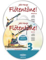 Ertl, Barbara: Jede Menge Flötentöne Band 3 2 CD's