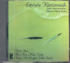 Estnische Klaviermusik CD mit Werken von Tobias, Saar, Eller, Arro, Mägi, Koha, Rääts u.a.