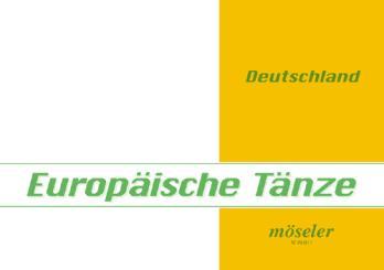 Europäische Tänze Band 11 Deutschland