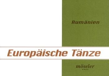 Europäische Volkstänze Band 10 Rumänien