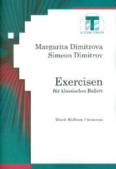 Fürstenau, Wolfram: Exercisen für klassisches Ballett Teil 1 Noten für Klavier und, Tanzanweisungen