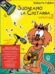 Fabbri, Roberto: Suoniamo la chitarra vol.2 (+CD) la chitarra polifonica, italienische Gitarrenschule für Kinder