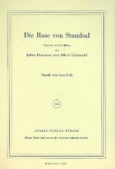 Fall, Leo: Die Rose von Stambul Libretto (dt)