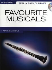 Favourite Musicals (+CD): for really easy clarinet