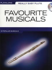 Favourite Musicals (+CD): play-along for really easy flute