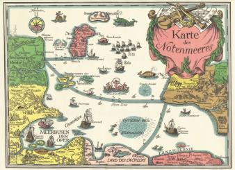 Felten, Wolfgang: Karte des Notenmeeres
