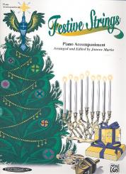 Festive Strings for string instrument (solo or ensemble) and piano, piano accompaniment