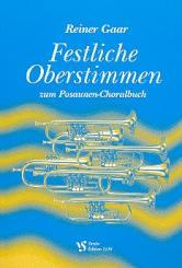 Festliche Oberstimmen zum Posaunen-Choralbuch