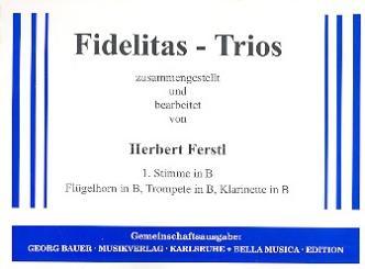 Fidelitas-Trios: 1. Stimme in B