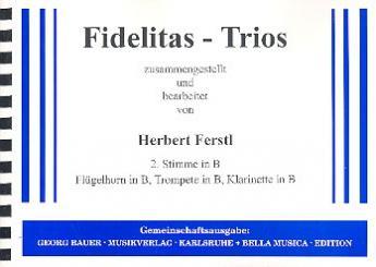 Fidelitas-Trios: 2. Stimme in B
