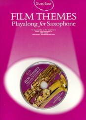 Film Themes (+CD) for alto saxophone Guest Spot Playalong