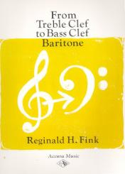 Fink, Reginald H.: From treble to bass clef for baritone