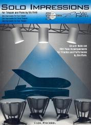 Firth, Vic: Solo Impressions (+CD) for timpani and piano