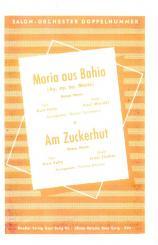 Fischer, Ernst: Am Zuckerhut: für Salonorchester