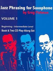 Fishman, Greg: Jazz Phrasing for Saxophone vol.1 (+2 CD's)
