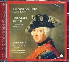 Friedrich der Große - Flötenmusik in Sans Soucci CD