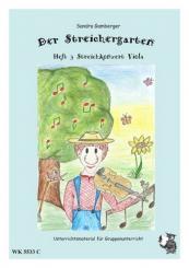 Gamberger, Sandra: Der Streichergarten Band 3 - Streichkonzert für Viola