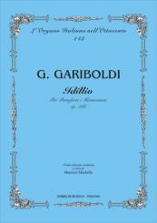 Gariboldi, Giuseppe: Idillio op.266 per pianoforte e harmonium partitura