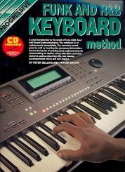 Gelling, Peter: Progressive Funk and R & B Keyboard Method (+CD)