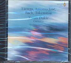 Gitarrenwerke von Tarrega, Jose, Bach und Takemitsu CD
