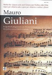 Giuliani, Mauro: Werke für Gitarre (z.T. mit Violine/Flöte) Stimmen