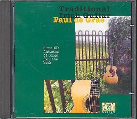 Grae, Paul de: Traditional Irish Guitar Demonstration CD