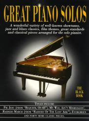 Great Piano Solos - the black Book