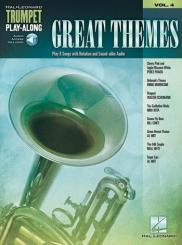 Great Themes (+audio access): for trumpet, trumpet playalong vol.4