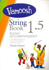 Gregory, Thomas: Vamoosh String Book vol.1.5 for string instrument and piano, piano accompaniment