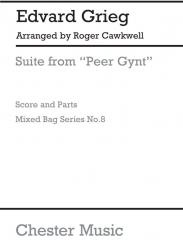 Grieg, Edvard Hagerup: Suite from Peer Gynt Woodwind ensemble for a mixed bag, mixed bag no.8     score and parts
