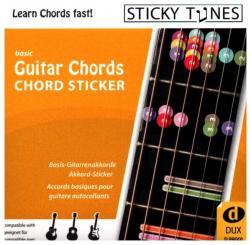 Guitar Chords - Chord Sticker wiederablösbare Gitarrenaufkleber