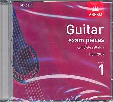 Guitar Exam Pieces Grade 1 CD complete Syllabus 2009