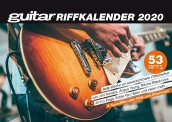 Guitar Riff Kalender 2020 Wochenkalender 15 x 21 cm