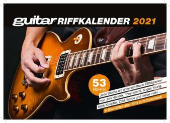 Guitar Riff Kalender 2021 Wochenkalender 15 x 21 cm