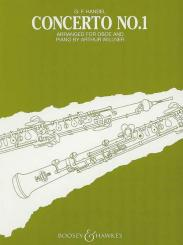 Händel, Georg Friedrich: Concerto B flat major no.1 for oboe and strings for oboe and piano