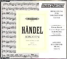 Händel, Georg Friedrich: Violinsonaten Band 2 CD (mit der Begleitung zur Solovioline)
