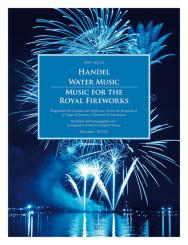 Händel, Georg Friedrich: Wassermusik und  Feuerwerksmusik für Cembalo (Orgel) (Feuerwerksmusik auch mit Flöte/Violine und Bc), Partitur und Stimmen
