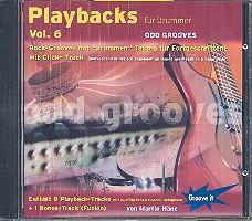 Häne, Martin: Playbacks für Drummer vol.6 CD Odd Grooves