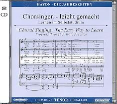 Haydn, Franz Joseph: Die Jahreszeiten 2 CDs Chorstimme Tenor und Chorstimmen, ohne Tenor