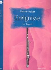 Heider, Werner: Ereignisse für Fagott