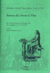 Heinichen, Johann David: Sonata da chiesa G-Dur für Tasteninstrument