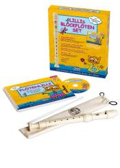 Hintermeier, Barbara: Lillis Blockflöten-Set (Instrument (barocke Griffweise) +Schule +CD +Lernspiele)