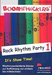 Hoff, Andreas von: Boomwhackers Rock Rhythm Party vol.1