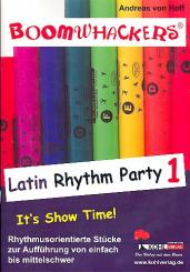 Hoff, Andreas von: Boomwhackers Latin Rhythm Party vol.1
