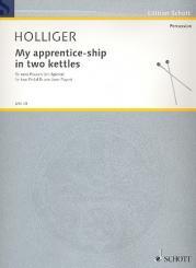 Holliger, Heinz: My Apprentice-Ship in 2 Kettles für 2 Pedalpauken (1 Spieler)