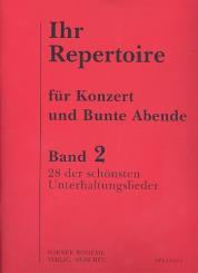 Ihr Repertoire Band 2: 100 volle Gläser, Barcarola veneziana