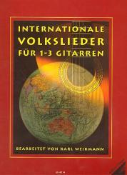 Internationale Volkslieder für 1-3 Gitarren